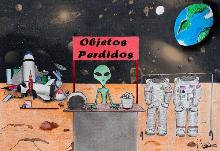 Entrada 1. Julio 16. Un marciano en el planeta tierra.jpg